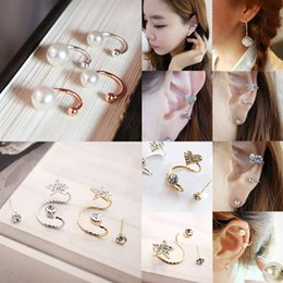 gold cartilage piercing Australia - Hot 2018 Ear Clip Invisibility Wrap Cartilage Cuff Stud Non Piercing Clip Earring For Women Jewelry
