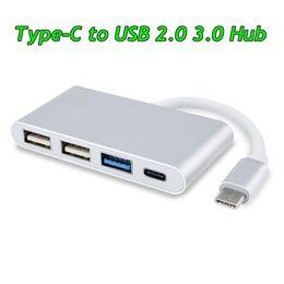 $enCountryForm.capitalKeyWord Australia - USB-C OTG Hub with Type C 4 in 1 Type C to USB 3.0 Hubs Multi-Port Charging Connecting Adapter U-Disk Data Transfer