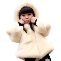 4b7a3a7f3 Baby Girl White Faux Fur Coat Australia