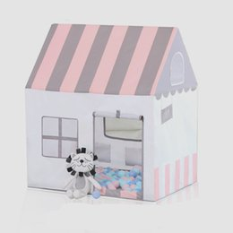 $enCountryForm.capitalKeyWord Australia - Child Toy Tent Teepee Princess Prince Castle Tipi Game Tent Girls Play House Lodge Balls Cottages Indoor Outdoor Camp Tipi Gift