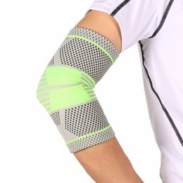 Discount tennis elbow support sleeve - 1 PCS Elbow Support Compression Sleeve Elbow Brace Protector Volleyball Tennis Arm Brace Elastic Support Bandage