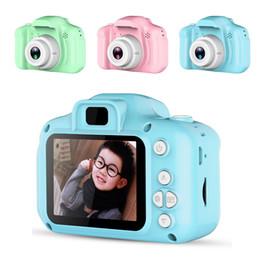 2 Polegada Tela HD Crianças Mini Câmera Crianças Brinquedos Educativos para Crianças Presentes Do Bebê Presente de Aniversário Câmera Digital 1080 P Vídeo de Projeção Came