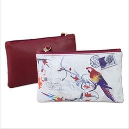 $enCountryForm.capitalKeyWord Australia - Women Wallet Art Print Clutch Bag Faux Leather Purse Phone Zipper Lady Wallets PU