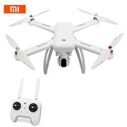Xiaomi Mi Drone WIFI FPV original con 4K 30fps 1080P Cámara 3 ejes Eje GPS RC Drone Quadcopter RTF con transmisor