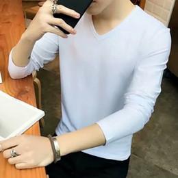 Long Tees Hot Men Australia - Hot Sale Classic Men T Shirt Long Sleeve O Neck Mens T-shirt Cotton Tees Tops Mens Brand Tshirt Plus Sizem- Xxxl Sweatshirts