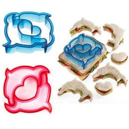 $enCountryForm.capitalKeyWord Australia - DIY Baking Cake Dinosaur Star Car Animal Shapes for Kids Bento Lunch Sandwich Cutter Mold Toast Cookie Bread Presses Set