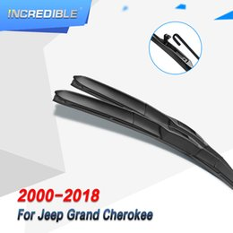 Discount grand cherokee - INCREDIBLE Hybrid Wiper Blades for Grand Cherokee Fit Hook Arms Model Year From 2000 to 2018