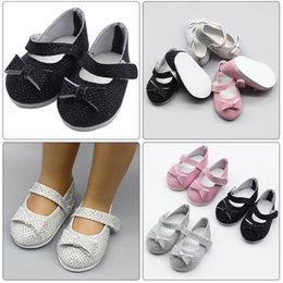 "$enCountryForm.capitalKeyWord Australia - Fashion PU Shoes Doll Shoes For 18"" American Doll 43cm Baby Accessories Kids Gift Toys"
