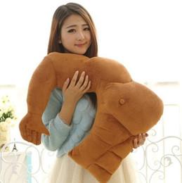 Pillows arms online shopping - Muscle Arm Shape Cushion Boyfriend Arm Plush Pillow Soft Stuffed Sleeping Pillow Creative Gift Home Decoration