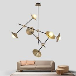 $enCountryForm.capitalKeyWord Australia - Modern Glass Led Pendant Light Speaker Style Dining Room Kitchen Designer Hanging Lamps Avize Suspension Luminaire