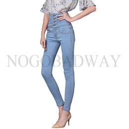 Plus Size High Waist White Jeans Australia - Stretch Plus Size High Waist Skinny Jeans Woman Denim Pants Femme Slim For Women Winter Casual Vintage Black White Pencil Jeans J190505