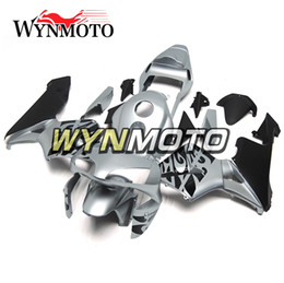 Motorcycle Fairing Kits Abs Plastic Australia - Silver Black Hull Motorcycle Fairings For Honda CBR600RR 2003 2004 F5 03 04 ABS Plastic Injection motorbike Kits cowlings covers