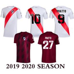 Wholesale football shirt river online – design 2019 River Plate Soccer Jersey Rodrigo Mora Football Shirt Sanchez VALDIVIA MEDEL VIDAL soccer jersey ALEXIS high quality