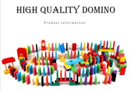 $enCountryForm.capitalKeyWord Australia - The factory sells 120 color domino dominoes directly to children's competition organ domino wooden building blocks