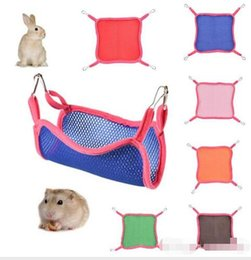 Bird Supplies Trustful 1pc Small Animal Rat Parrot Grid Ferret Bird Rope Nets Toys Swing Hammock Hanging Cage For Daily Animal
