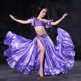 $enCountryForm.capitalKeyWord Australia - New design Nice Oriental belly Dancing Costumes Outfits for kids child girls Sexy bellydance Set Dresses Suits S M L 5 colors