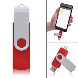 32gb Sticks Australia - Red 10 Pack 32GB OTG USB 2.0 Flash Drive Folding Dual USB Memory Stick Thumb Pen Drive Storage for Computer Android Smartphone Tablet