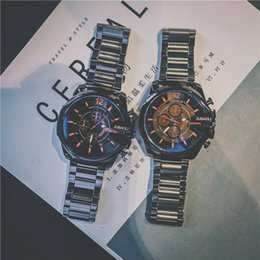 $enCountryForm.capitalKeyWord Australia - Relogio Masculino Luxury Mens Watch Sports Wristwatches Big Face Stainless Steel Quartz Analog Business Army Military Watches Gifts Clock