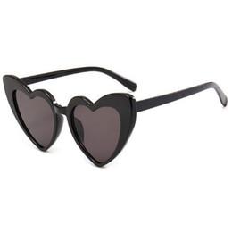$enCountryForm.capitalKeyWord UK - Love sunglasses fashion sunglasses female love cat eyes retro Christmas gift black pink red heart-shaped sunglasses female uv400