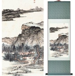$enCountryForm.capitalKeyWord NZ - Zhangdaqian Mountain And River Painting Chinese Scroll Painting Landscape Art Painting Home Decoration 0402024