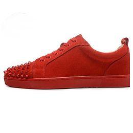 $enCountryForm.capitalKeyWord UK - wholesale Best Designer Sneakers Famous Brand Red Bottom designer Mens Luxury spike shoes Genuine Leather,White Spiked Toe Flats 03