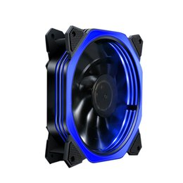 Light radiators online shopping - Multi color V Computer Case Supply Cooling With LED Light Silent Radiator Fan