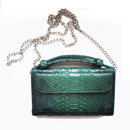 Ostrich Leather Clutch Bag Australia - Cowhide Genuine Leather Women Messenger Bags Chains Crossbody Bag Female Fashion Shoulder Bags for Women Clutch Small Handbags
