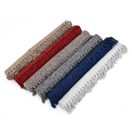 China Cotton Area Rug,Hand Woven White Black Red Blue Brown Tassels Throw Rugs Indoor Area Rugs for Livingroom Bedroom Kitchen Hallway supplier black white kitchen rugs suppliers