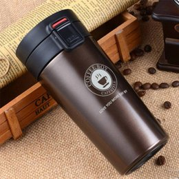 water bottles for boys Canada - Coffee Boy Coffee Thermos Bottle 304 Stainless Steel Vacuum Flasks For Tea Portable Thermo Mug Thermocup C19041601