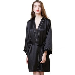 02bd1eec6 Ladies Sexy Belt Silk Satin Robes Sleeveless Nighties V-neck Nightgown  Nightdress Lace Sleepwear Nightwear Women Night Dress
