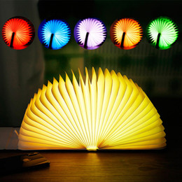 Red Light Card Australia - USB Rechargeable Colorful Color Change Book Light LED Book Light Reading Book Light Red Blue Gold Brown Yellow