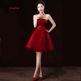 $enCountryForm.capitalKeyWord Australia - wholesale Short Prom Dresses For Women Tulle Simple Dress Cute Gown Women Formal Dress For Party Prom Elegant Cheap On