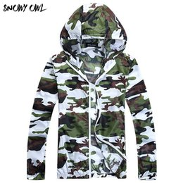 Uv protection clothing online shopping - Summer Sun Protection Clothing Long Sleeved Couple Camouflage Skin Cloth Transparent Sunscreen Clothing UV DL