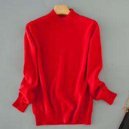 $enCountryForm.capitalKeyWord Australia - Sweater cashmere Female Short Design Thickening Turtleneck Slim Basic Shirt Pullover Sweater Solid Color Sweater Plus Size