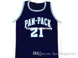 44642d4dd6c Cheap Mens DOMINIQUE  21 WILKINS PAM-PACK HIGH SCHOOL JERSEY NEW ANY SIZE  XS - 5XL Retro Basketball Jerseys