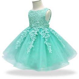$enCountryForm.capitalKeyWord Australia - Infant Dress 2019 Summer Baby Lace Princess Dresses For Baby Girls 1 Year Birthday Dress Newborn Christening Wedding Ball Gowns Y19061001