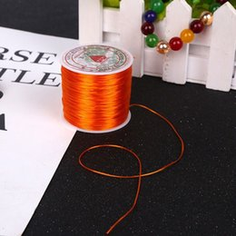 $enCountryForm.capitalKeyWord NZ - golden 60m meters multi-color strong stretchable elastic bead line   rope   chain   line DIY bracelet jewelry production