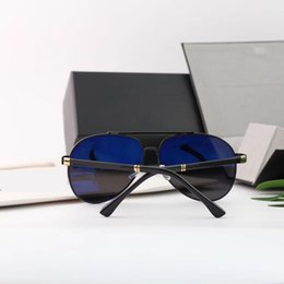 Discount super black sunglasses men - New polarized metal men's sunglasses High quality retro UV resistant super sunglasses 8843 free shipping