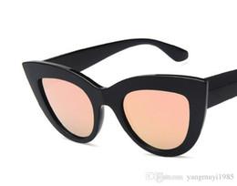Cats Eye Eyeglasses NZ - Trendy retro cat eye sunglasses trend all purpose shades hot style sunglasses 11 optional styles free shipping.