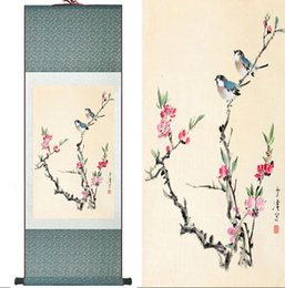 $enCountryForm.capitalKeyWord Australia - Traditional Birds And Flower Painting Home Office Decoration Chinese Scroll Painting Digital printing traditional flower and bird painting