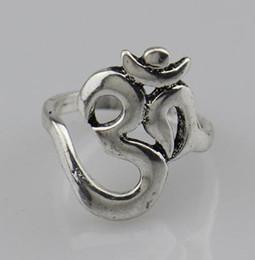 Men Ring Symbol NZ - Wholesale- 2016 New Hindoo Jewelry,OHM Hindu Buddhist AUM OM Ring Hinduism Yoga India Outdoor Sport Women Men Ring Religious Symbol Jewelry