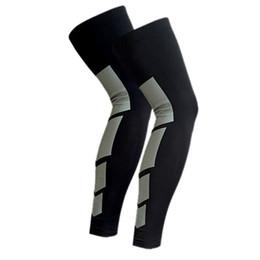 $enCountryForm.capitalKeyWord Australia - Outdoor Sports Cycling Leg Long Length Protector Gear Crash Proof Anti-Slip Type 1PCS New Arrival