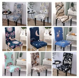 $enCountryForm.capitalKeyWord Australia - Spandex Chair Removable Chair Covers Stretch Dining Seat Slipcover Covering Elastic Seat Case Office Banquet Wedding Decor 39 YYW2816