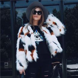 $enCountryForm.capitalKeyWord Australia - Real shot women's autumn and winter new mixed color wool imitation fox fur grass coat imitation fur hair coat short