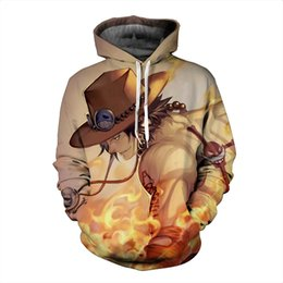 animal monkey hoodies NZ - New Funny Japan Anime One Piece Monkey D Luffy Hoodies 3D Print Clothing Women Men Unisex Funny 3D Hoodies Casual Pullovers Tops K547