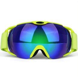 a50c51cb503 Unisex Snowboard Anti-fog Ski Spectacles Goggles Outdoor Double Activities  Windshield Mountain Skiing Glasses Women Men Eyewear