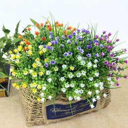 $enCountryForm.capitalKeyWord Australia - Simulation Lily Of The Valley Bouquet Artificial Plastic Fake Flowers Wedding DIY Flores Home Party Feast Decor Flower