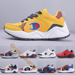 $enCountryForm.capitalKeyWord Australia - Brand 93 Eighteen Kids Running Shoes For Boys Girls Baby Designer Sneakers Fashion Big C Lifestyle Children Shoes Kids Trainers Size 28-35