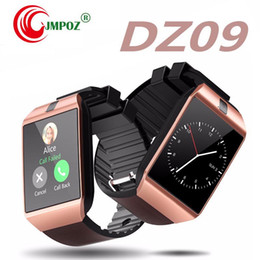 $enCountryForm.capitalKeyWord Australia - Free shipping DZ09 Bluetooth Smart Watch Phone Mate GSM SIM For Android iPhone Samsung Huawei Cell phone 1.56 inch Free DHL smartwatches
