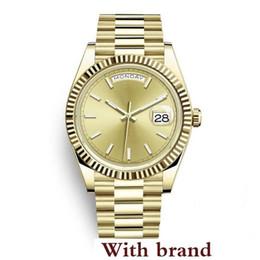 $enCountryForm.capitalKeyWord UK - Watch Limited Golden New Style 2600540 Date Solid Bracelet Sapphire 40mm Man Daydate President Wristwatch Sports Mens Watches